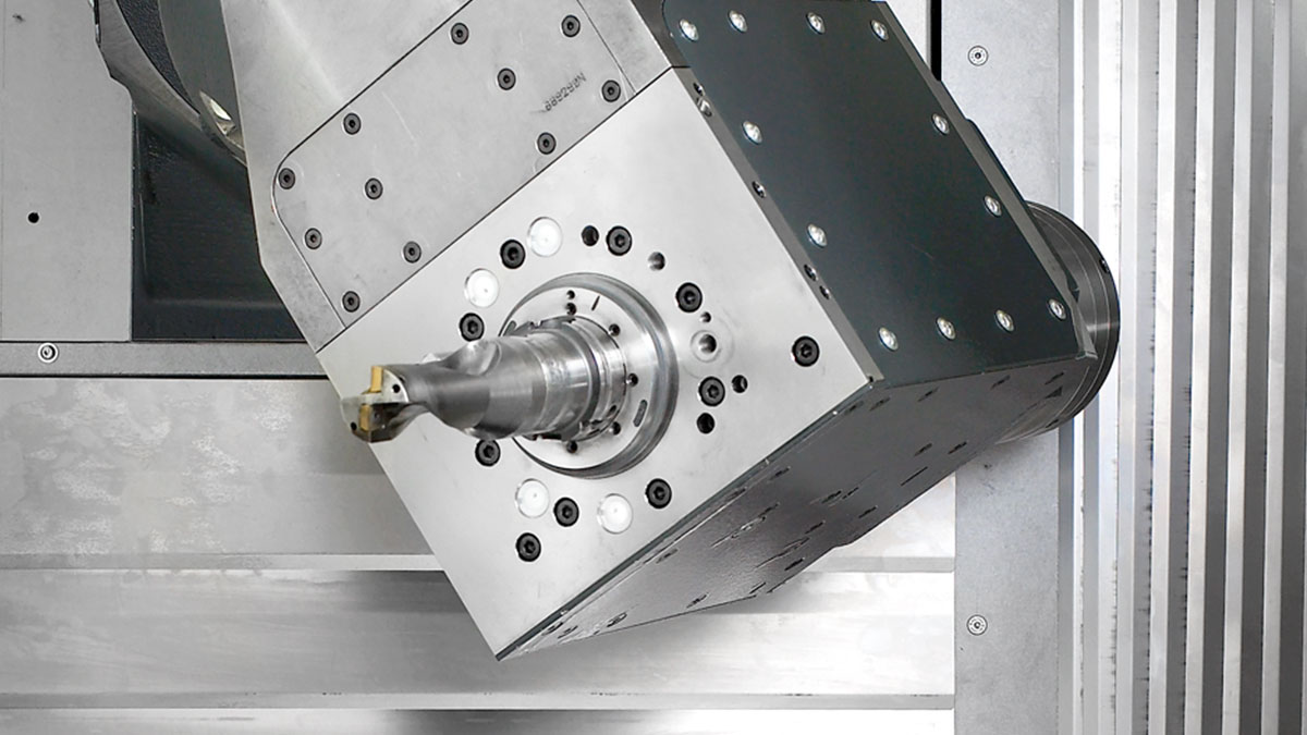 5-axis machining centres F: Spindle units