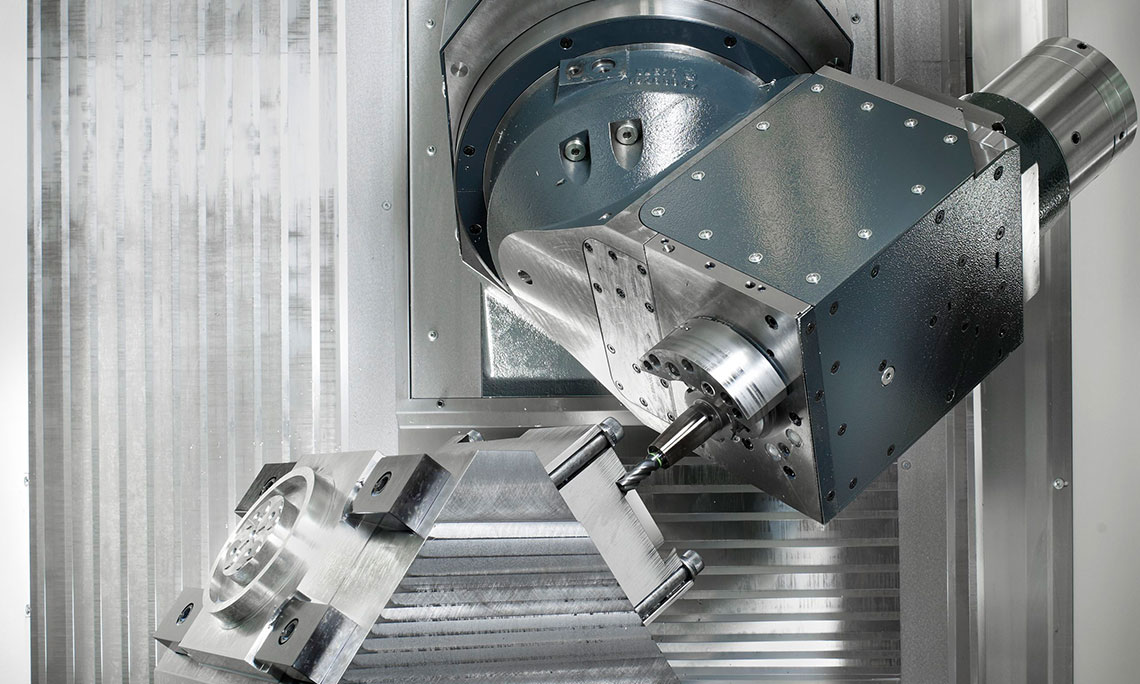5-axis-machining on the F series