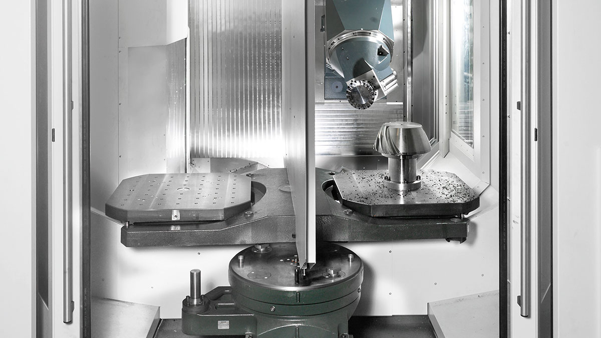 5-axis machining centres F: Workpiece management