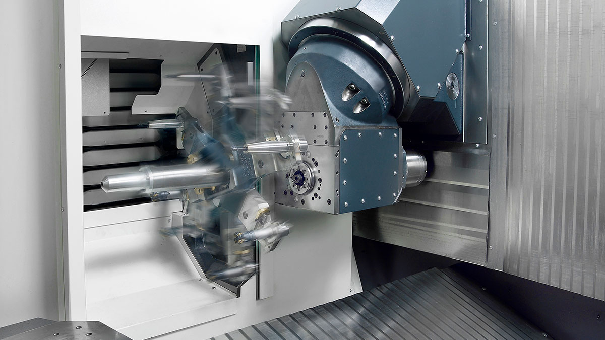 5-axis machining centres F: Tool management