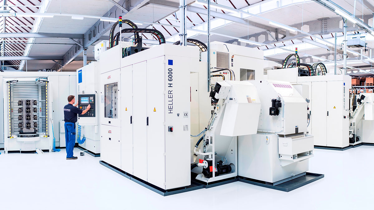 4-axis machining centres H: Automation