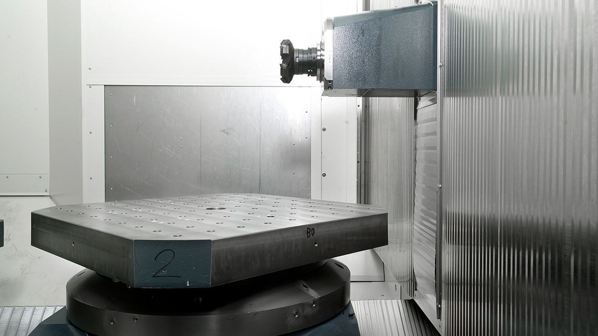 4-axis machining centres H: Machine concept