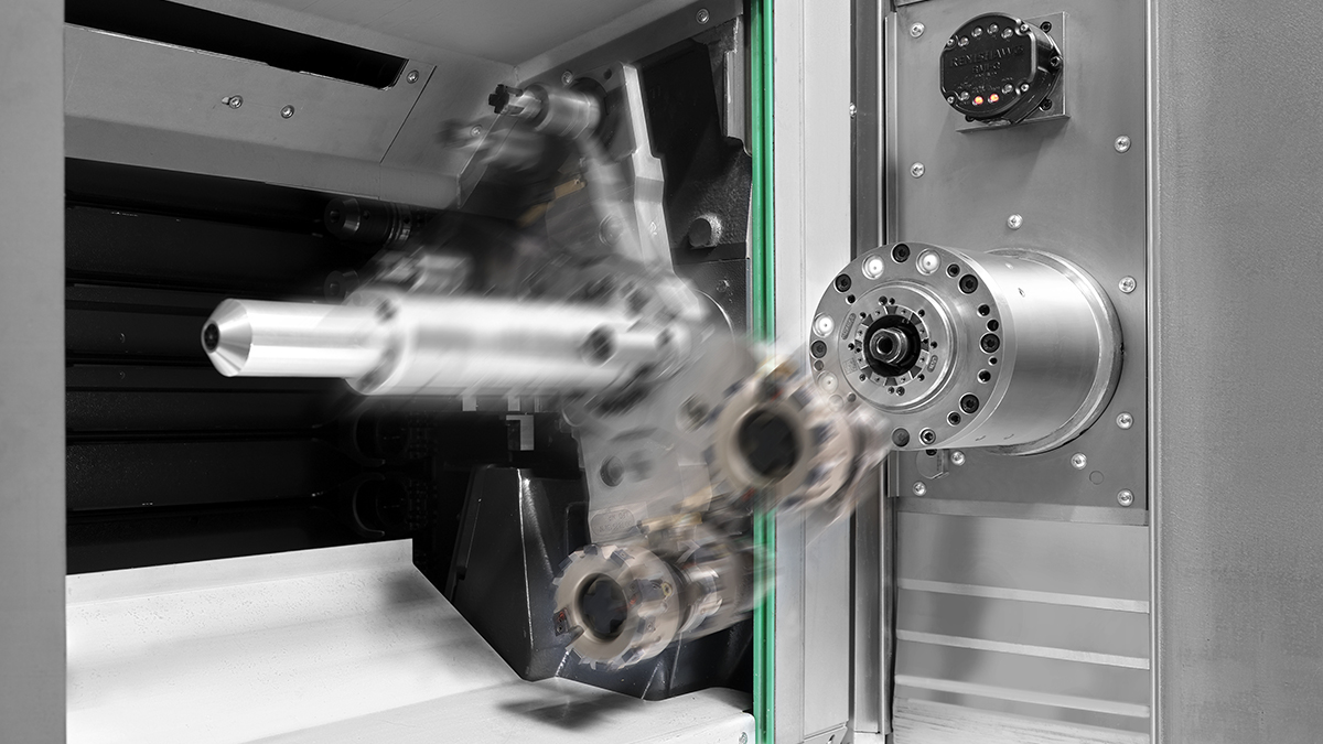 4-axis machining centres H: Tool management