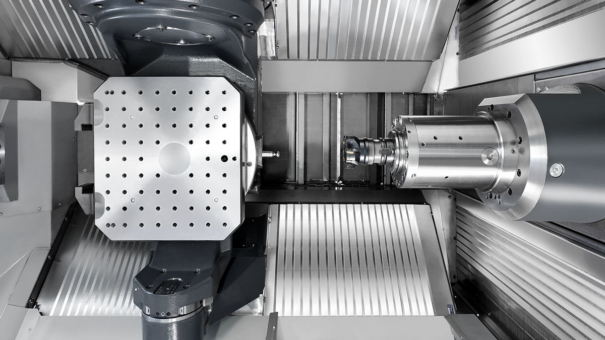 5-axis machining centres HF: Machine concept