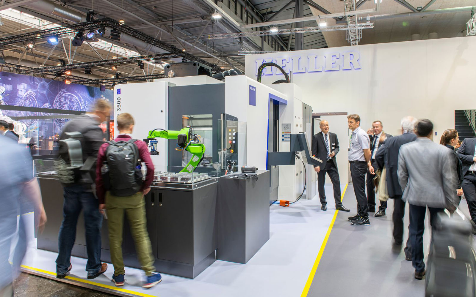 EMO 2019: HELLER showcases its entire expertise in productivity and availability