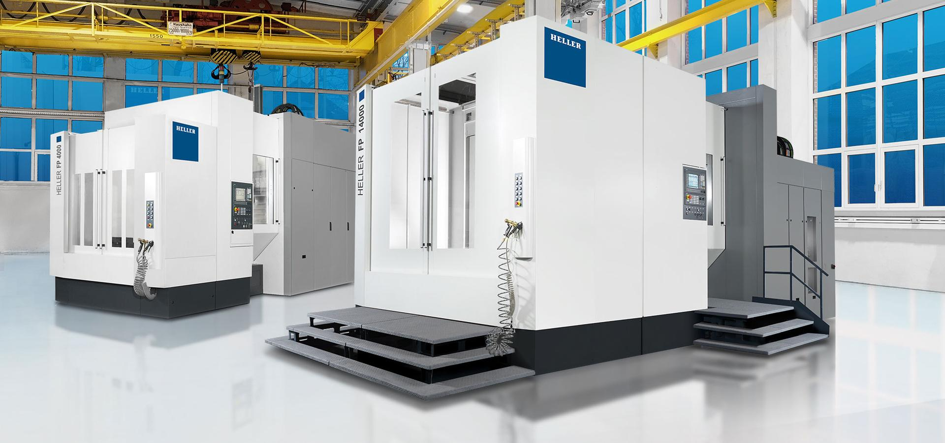 5-axis machining centres F