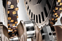 CNC milling and turning centers for machining crankshafts and camshafts