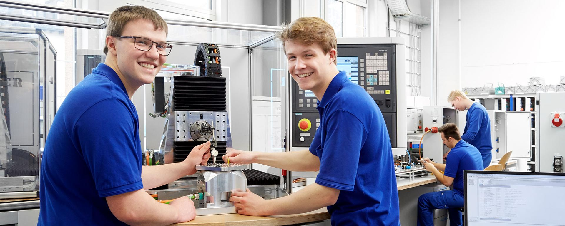 Training at HELLER: Mechatronics Engineer