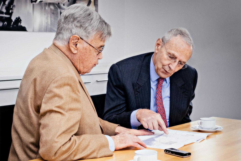 In conversation with Hubert and Berndt Heller